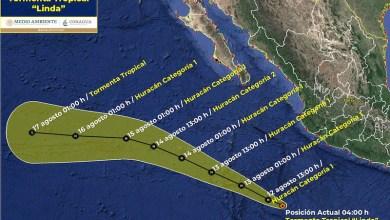 tormenta tropical Linda