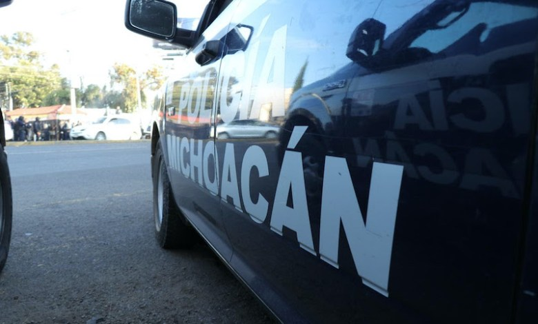 Policía Michoacán, patrulla
