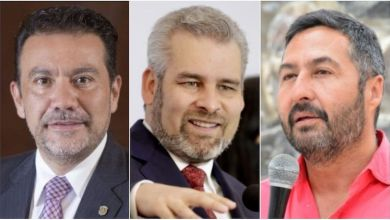 Los suspirantes, Roberto Monroy, Alfredo Ramírez Bedolla, Víctor Báez