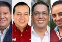 Los suspirantes, Juan Pablo Puebla, Julio Peguero,Osvaldo Ruiz, Juan Pablo Celis