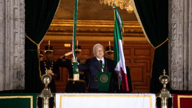 AMLO, Grito de Independencia