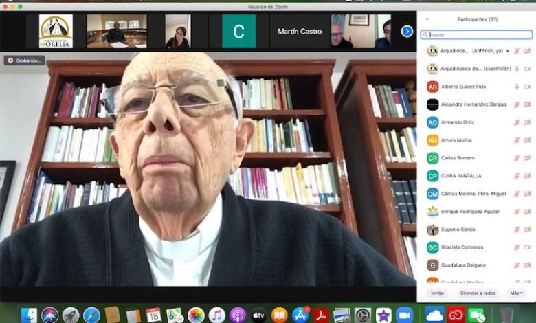 Alberto Suárez Inda, videoconferencia