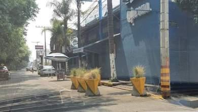 macetones, Avenida Solidaridad, Morelia