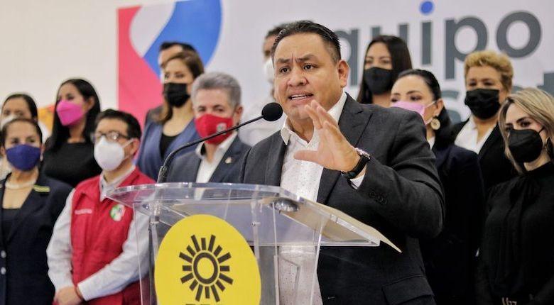 Víctor Manuel Manríquez, PRD, Equipo por Michoacán