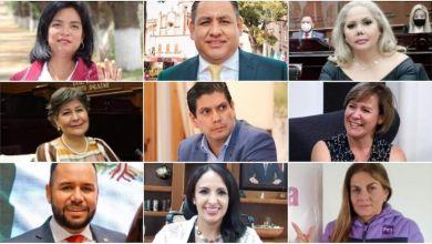 Los suspirantes, Congreso de Michoacán, diputados