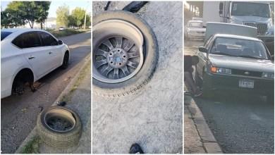 Vehículos resultaron dañados por baches