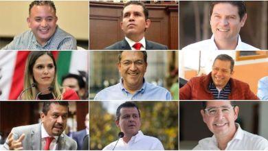 Los suspirantes, políticos destacados en Morelia