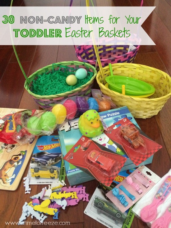 30 non candy items for your toddler easter baskets with easter almost here i do want them to experience how fun it is to get an easter basketi just want to fill it with something other than candy negle Images