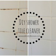 DIY Shower Tile Cleaner