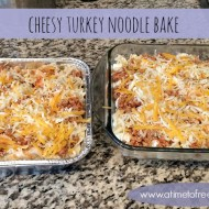Cheesy Turkey Noodle Bake
