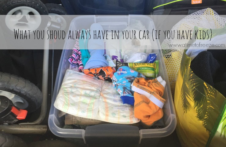 What you should always have in your car (if you have kids)