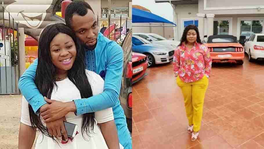 Photo of Rev Obofour Squeezing Wife's yash hits online
