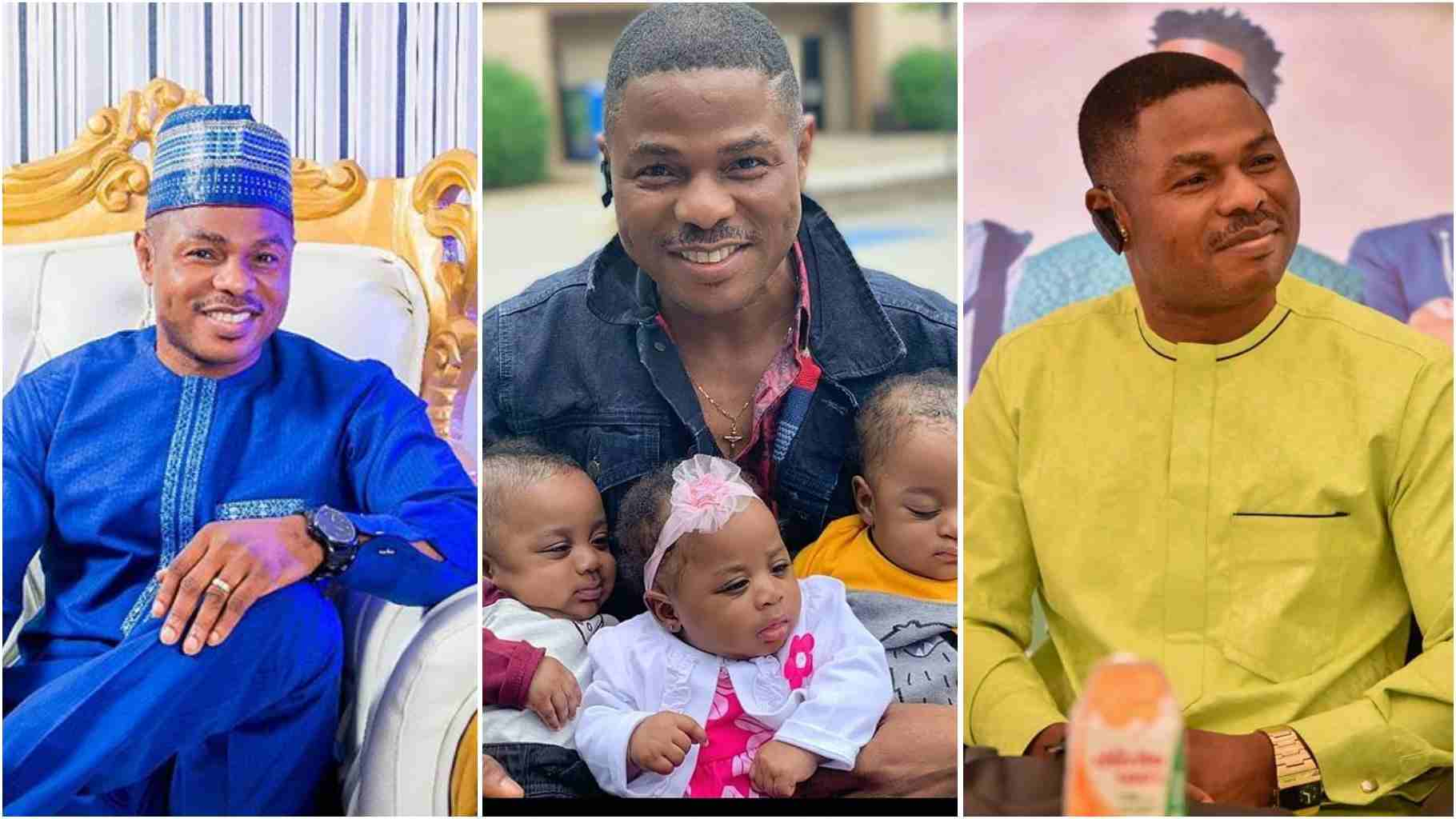 Image result for Yinka Ayefele and his babies