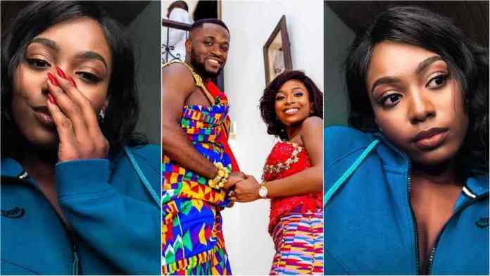 Kwame Despite's in-law Tracy speaks after her extravagant wedding to Kennedy Osei