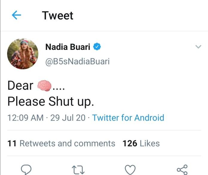 Nadia Buari fires Ghanaians