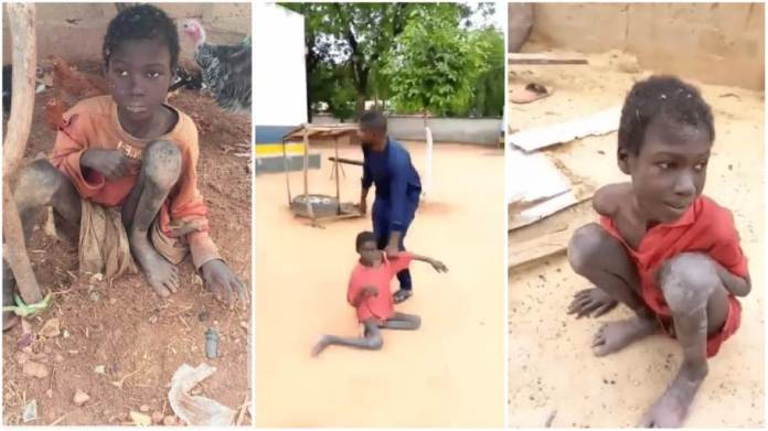 Jibril Aliyu chained by stepmother for 2 years