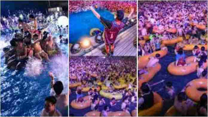 Massive pool party held in Wuhan after three months of reporting no new COVID-19 cases