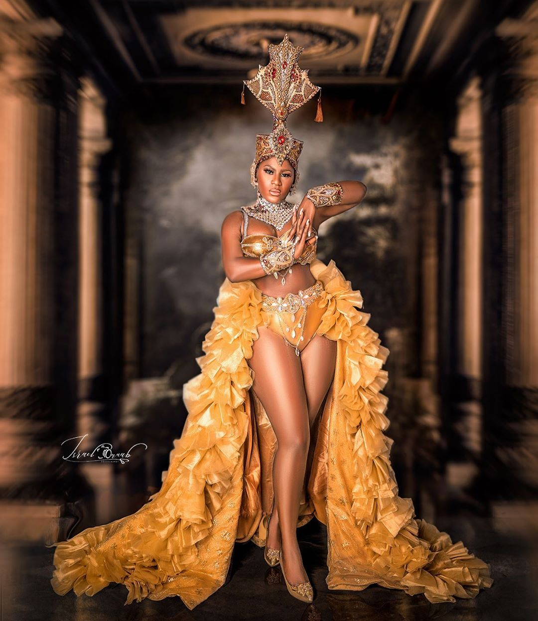 Curvy Nollywood actress Destiny Etiko celebrates birthday with hot photos