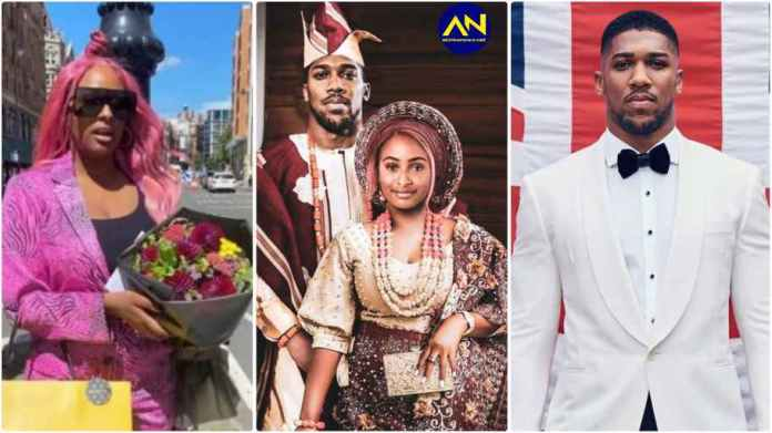 Cuppy and Anthony Joshua traditional wedding