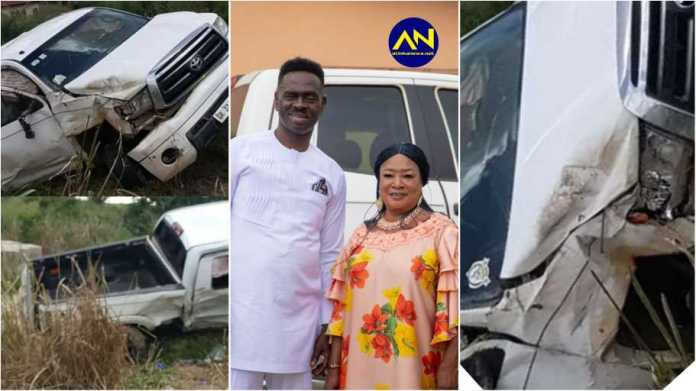 Yaw Sarpong and Tiwaa accident