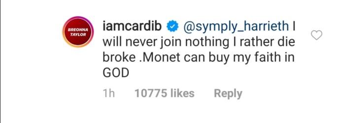 Cardi B and Illuminati