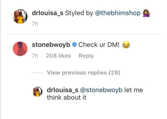 Stonebwoy and wife