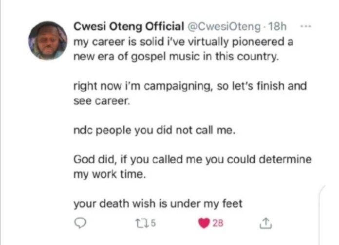 Cwesi Oteng