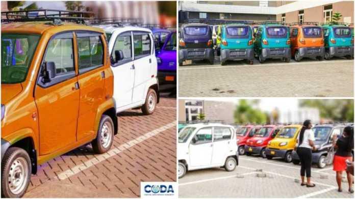 Akufo Addo's mini cars