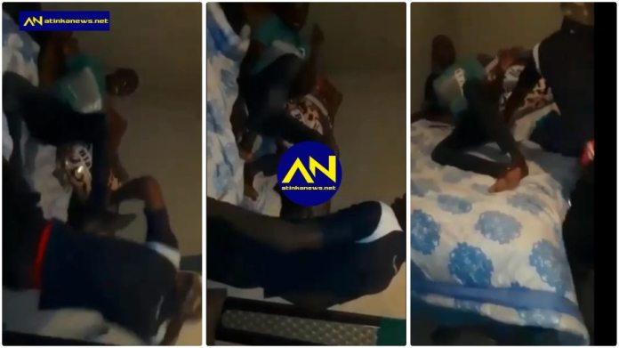 Man caught in bed with a married woman