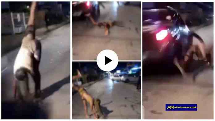 Lady dies after she was hit by a fast moving car