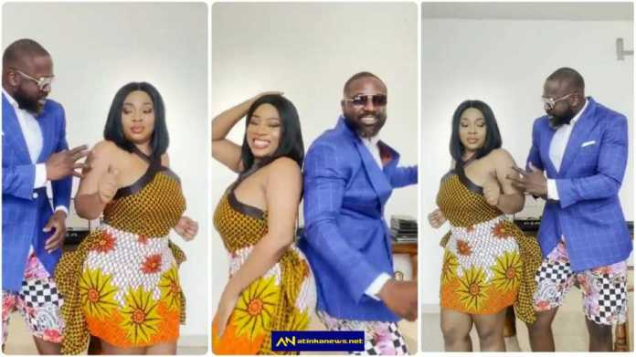 Moesha Boduong and Elikem