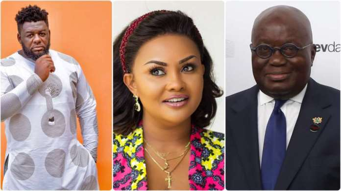 Nana Ama McBrown apologise to Akufo-Addo
