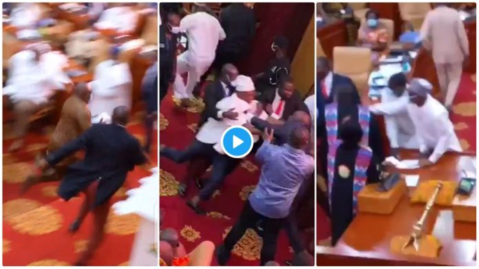 Watch the shocking moment Carlos Ahenkorah snatched ballot sheets  [video]
