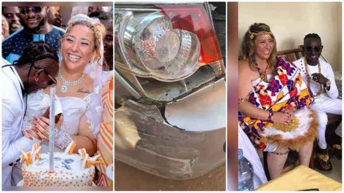 Patapaa and newly wedded accident