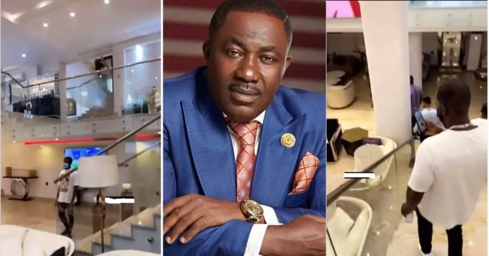 """""""Eiiii like shopping mall"""" – Fans amazed as video showing interior of Despite's gold mansion drops"""