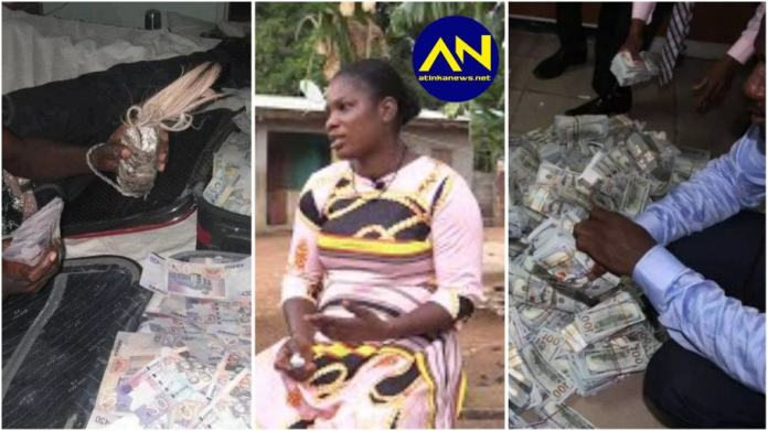 Lady exposes husband, reveals how he used their son for  'sakawa' money ritual [video ]