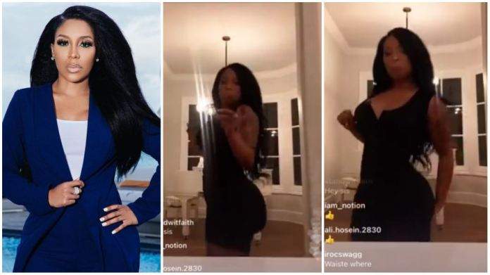 K. Michelle butt implant deflates
