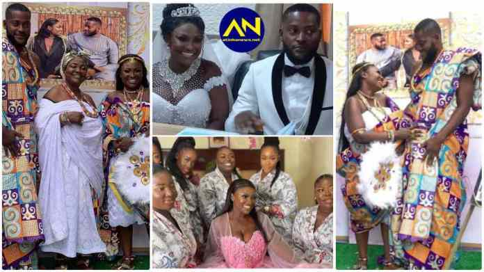 Abena Moet's wedding