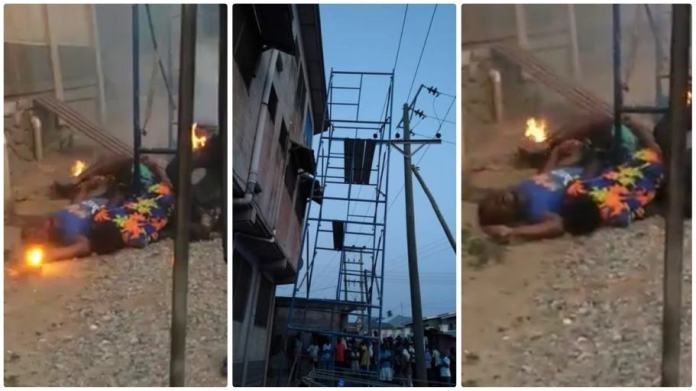 Four people have been electrocuted at Anwomaso Bebre near Ejisu