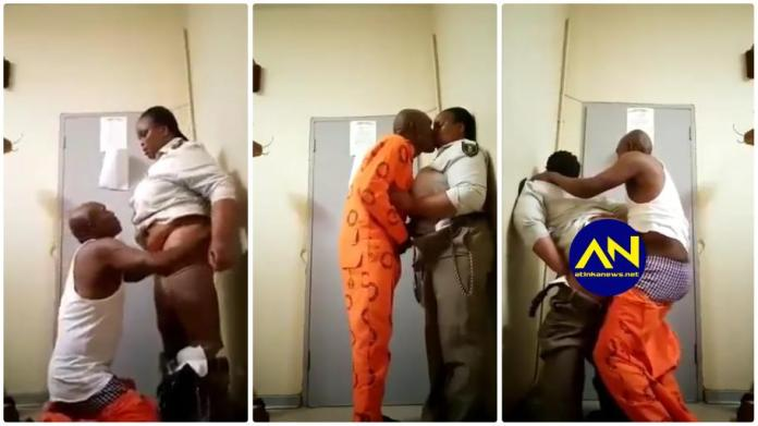 South African female prison warder tape with KZN inmate