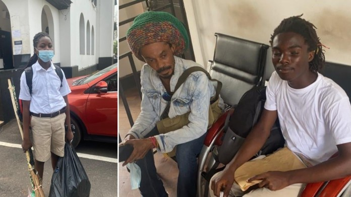 Boy who was refused admission to Achimota school due to his dreadlocks breaks silence