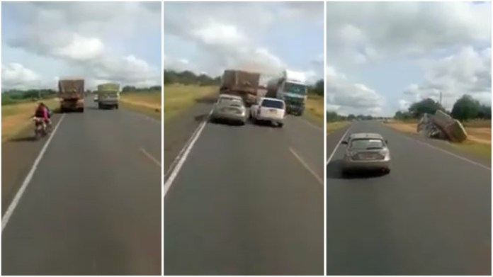 accident caught on camera
