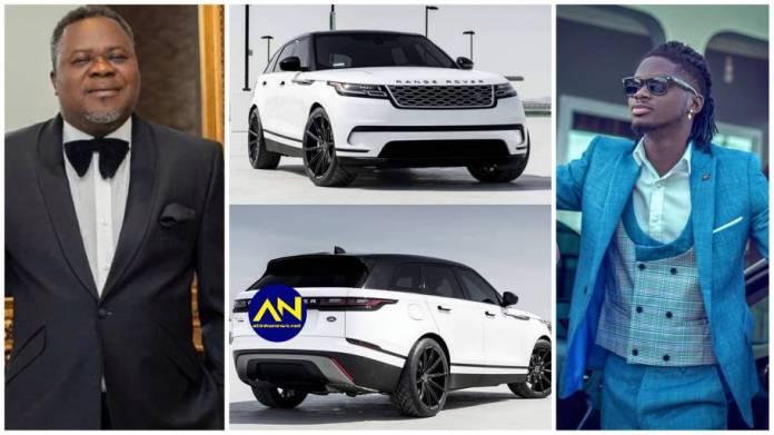Dr. Kwaku oteng gifts Kuami Eugene a brand new Range Rover