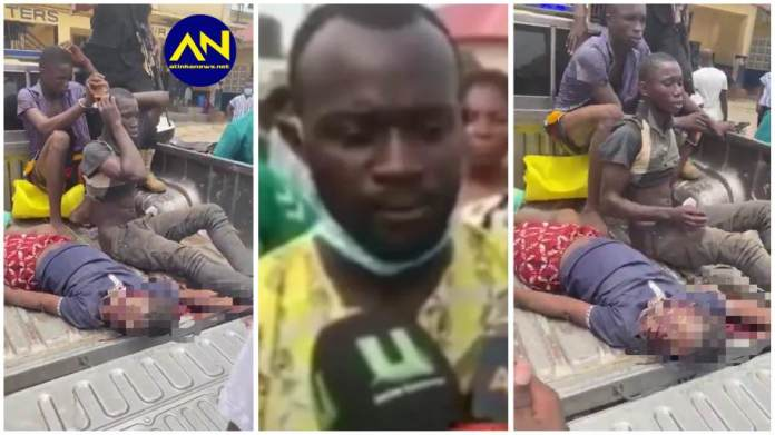Father of Kasoa 'sakawa' boys narrates how he discovered murdered victim's body [video]