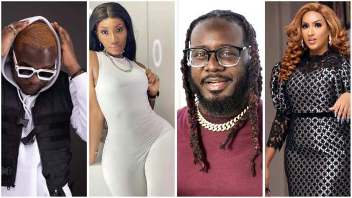 Juliet Ibrahim, Wendy Shay & Medikal busted chasing clout in T-Pain's DM [video]