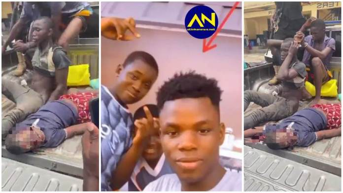 Ishmael Mensah who was killed by two teenagers in Kasoa for money rituals