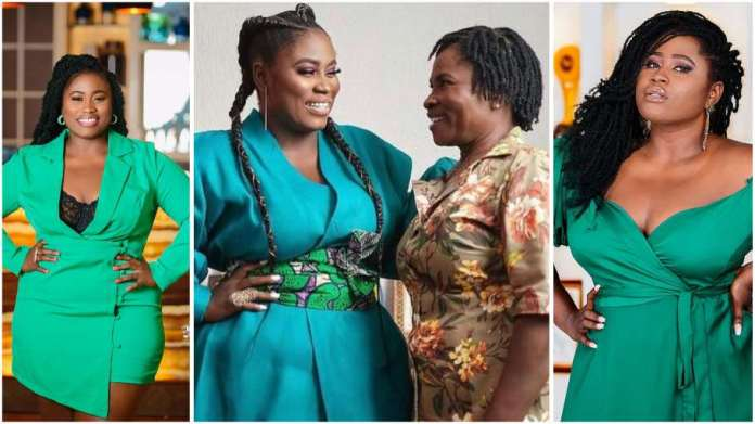 Actress Lydia Forson rain curses on a man for saying her mother is not worth celebrating