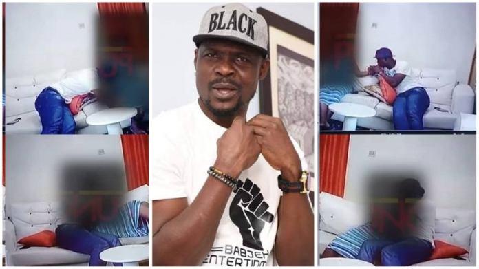 CCTV footage of nollywood actor Baba Ijesha molesting 14-year-old girl