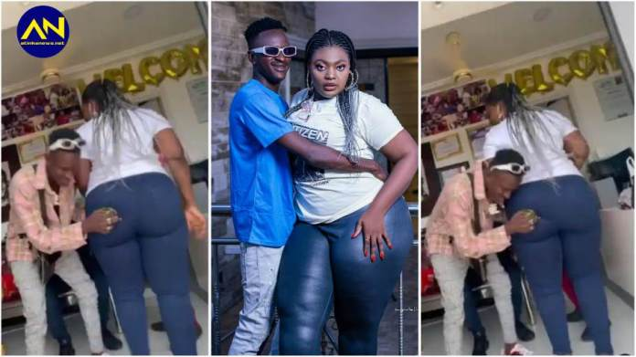 I love you more than my mother – Date Rush Ali goes on his knees to propose to Shemima [Watch]