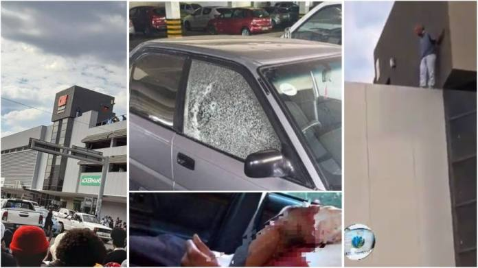 Man shoots wife dead after he found her in a car with another man